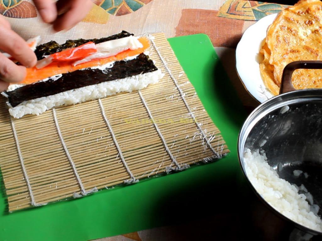 Варить рис для суши в домашних условиях 170